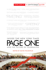 Post image for Giveaway: 'PAGE ONE: Inside the New York Times'