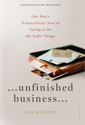 Review: 'Unfinished Business' by Lee Kravitz post image