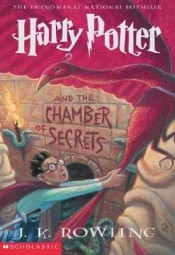 harry potter and the chamber of secrets by jk rowling cover