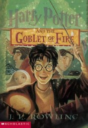harry potter and the goblet of fire by jk rowling cover