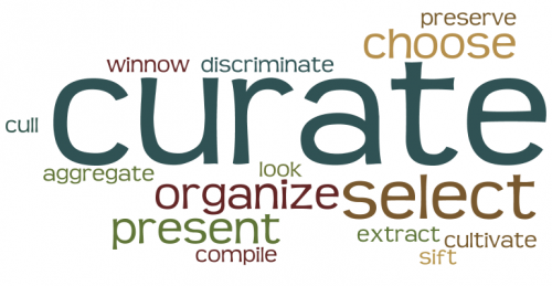 Wordle One Little Word 2014 Curate
