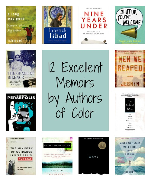 12 excellent memoirs by authors of color