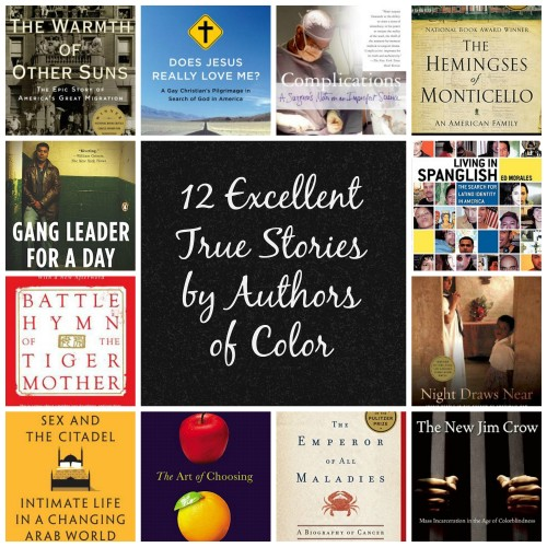 12 excellent true stories by authors of color