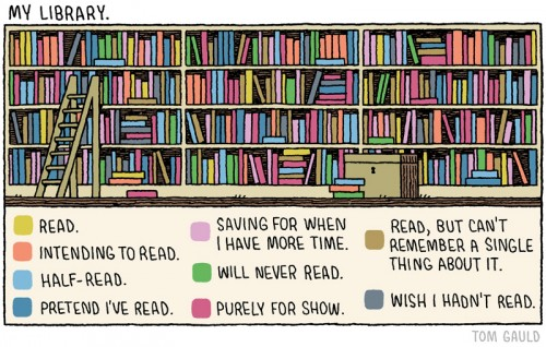 tom gauld comic my library