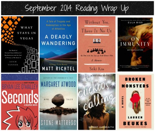 september 2014 reading wrap up
