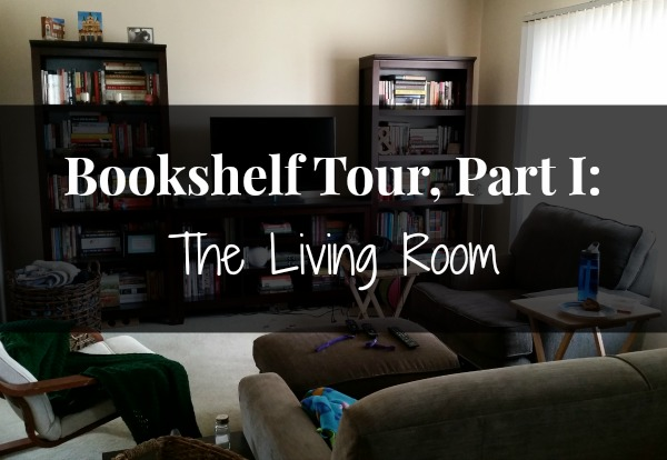 bookshelf tour part 1