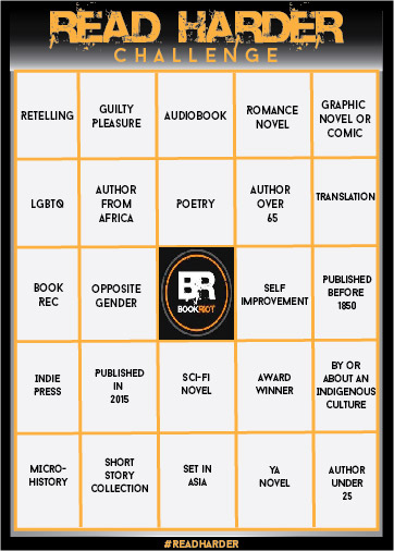 Read Harder Bingo Card
