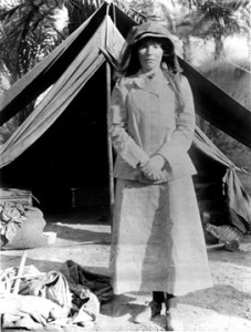 Gertrude Bell, the Female Lawrence of Arabia (Wikimedia Commons)