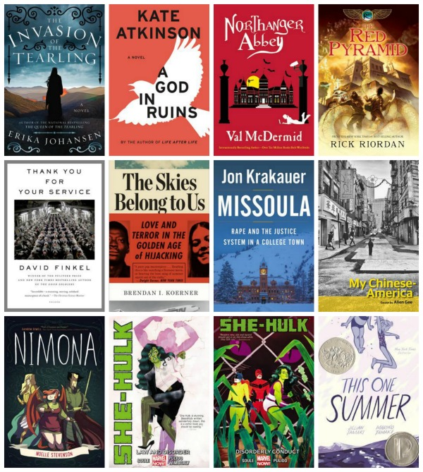 may 2015 reading collage