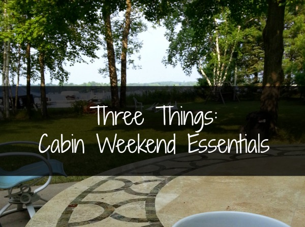 three things cabin