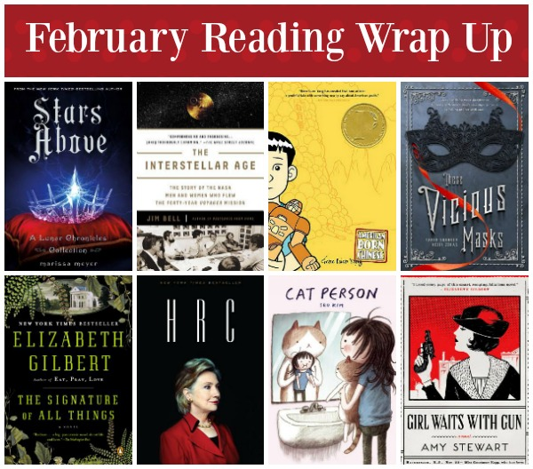 february 2016 reading wrap up