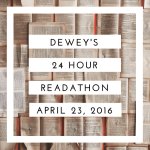 april 2016 readathon