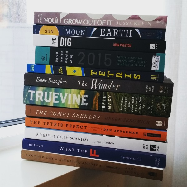 bea 2016 book pile monday