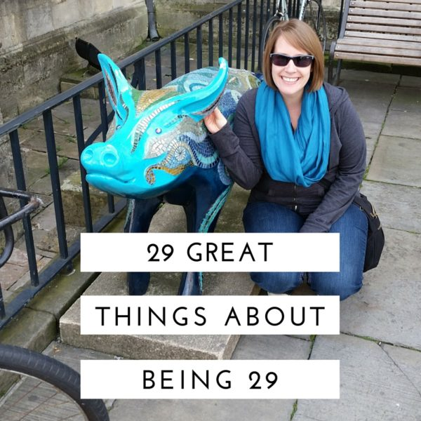 29 Great Things Graphic