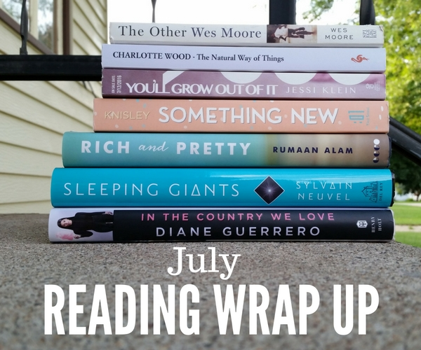 july 2016 reading wrap up
