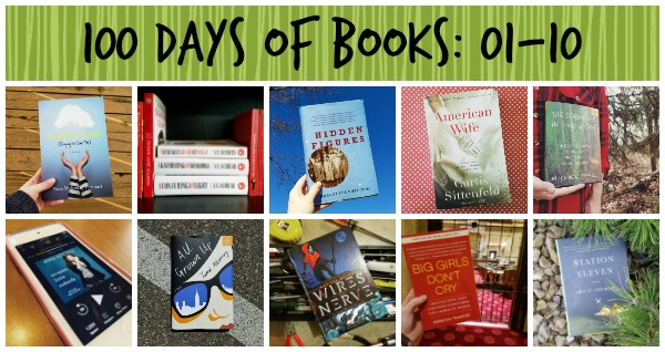100 Days of Books 1 to 10